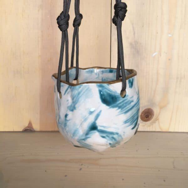 hanging succulent pot wabi sai