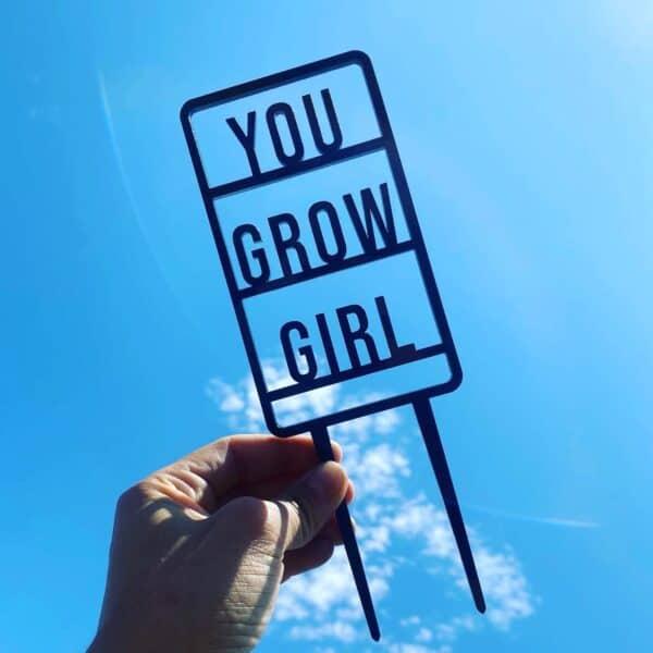 You Grow Girl Plant Trellis, Plantly