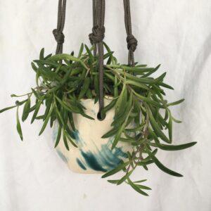 wabi sabi hanging planter