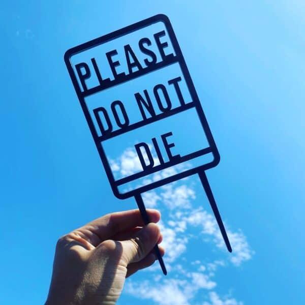Please Do Not Die Plant Trellis, Plantly