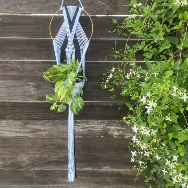 Shades Of Grey Plant Hanger, Plantly