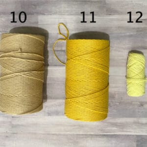 The Crafters Cottage Macrame Colors