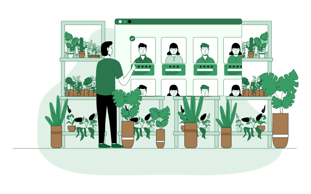 Connect Directly with Knowledgeable Plant Buyers
