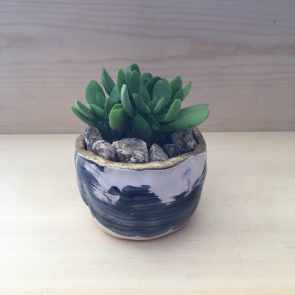 Handmade Wabi Sabi Succulent Pot