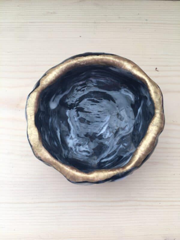 Handmade Succulent Wabi Sabi Pot detail