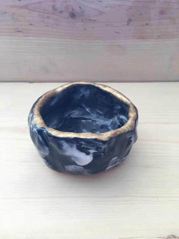 Handmade Succulent Wabi Sabi Pot with Mystery Succulent, Plantly